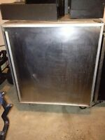 Silver king 24inch wide pizza fridge in perfect condition $650