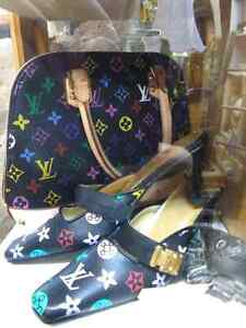 LV BAG AND SHOES SIZE 8