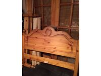 4ft Solid Pine Bed ( small double)