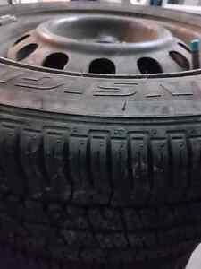 4 tires 185/65R14 Bridgestone Insignia Se 200