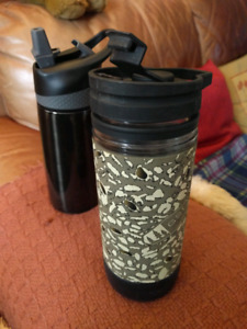 MEC Coffee Press and Water bottles