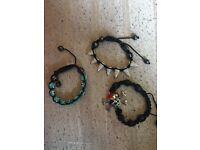 Women's Shamballa bracelet set