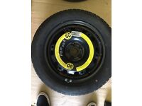 2x wheels and tyres for vw polo Mk 8