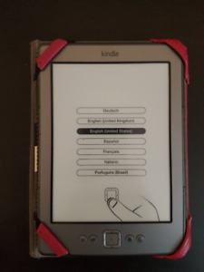 Kindle 4th generation with Case