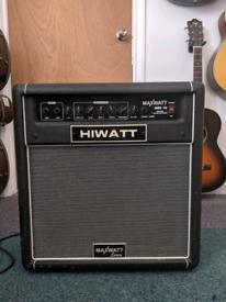HI WATT Maxwatt B60 12 bass amp (1960s brand)