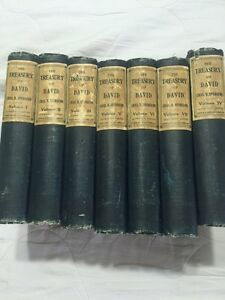 Spurgeon Treasury of David bible commentary