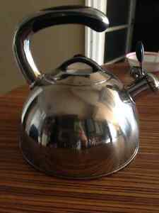 Used over the stove stainless steel kettle