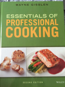 Essentials of Professional Cooking Textbook $60