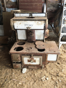 Antique McClary Stove & Grain Cleaner /extra John  Deere manuals