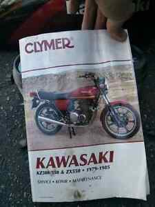 1984 Kawasaki KZ 550 LTD PARTS Kitchener / Waterloo Kitchener Area image 4