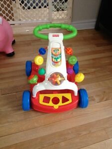 Fisher price push on toy
