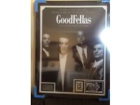 Goodfellas Framed Poster Signed by Mobster Henry Hill