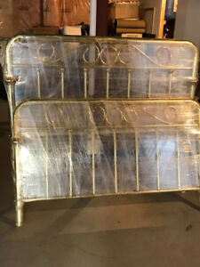 Queen Brass Headboard and footboard