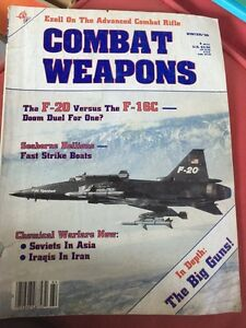 COMBAT WEAPONS vintage magazine winter 1986