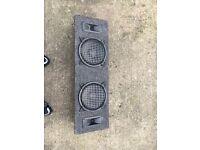 car subwoofer speakers