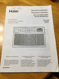 15000 BTU Haier Air Conditioner