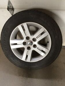Like new condition tires and rims 225/65/17