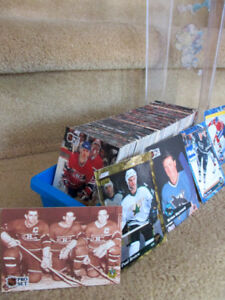 500 CARTES DE HOCKEY DE COLLECTION