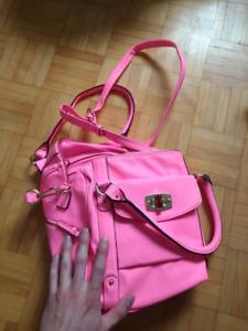 Merona woman's pink back pack