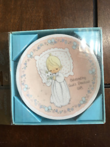 Precious Moments Baby Plate Gift