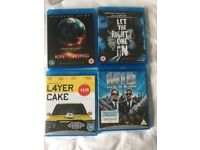 Blu-rays Knowing ~ Let the Right One In ~ L4yer Cake ~ Men in Black blu ray C