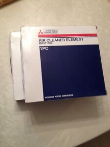 2 New Genuine OEM Mitsubishi Air Filters (fits Eclipse/Endeavor)