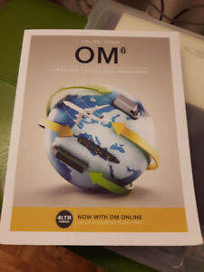 Operational Management textbook for sale ( brand new)