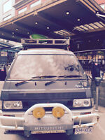 Delica roof rack and ladder
