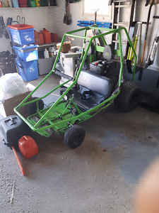 2 Seater 12hp dingo Go Kart/ trade for mini bike, golf cart, etc