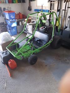 2 Seater 12hp dingo Go Kart/ trade for mini bike, golf cart, etc