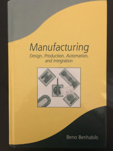 Selling Manufacturing Textbook, by Benhabib