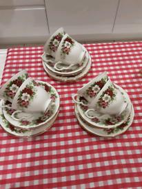 Royal Kent bone China tea set