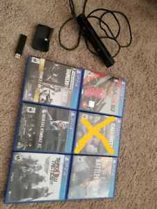 Ps4 Games and Camera