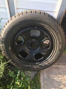 4-235/55R18 Bridgestone BLIZZAK DM-V2 on 5x114.3 600$ or trade