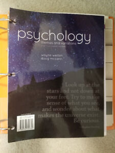 Psychology: Themes and Variations textbook