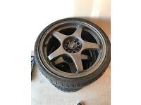 "OZ racing 18"" alloys Subaru fitment"