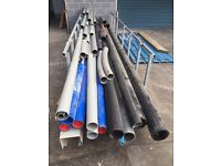 Water pipes and ducting
