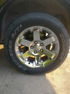 Dodge ram 1500 laramie wheels