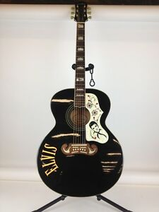 Epiphone Elvis Presley Limited Edition Acoustic Guitar 1996 Blac