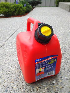 Gas Can 5 Liters, used only once