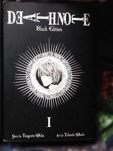 Deathnote Black editions 1-4