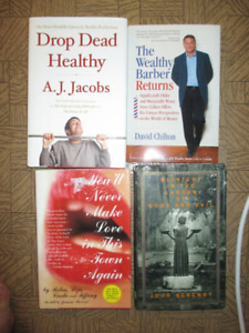 assorted books $3 each EUC