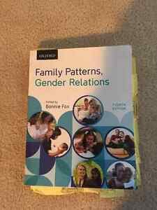 Family Patterns, Gender Relations. Fourth Edition by Bonnie Fox