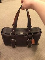 Authentic Coach purse/saccoche Coach-comme neuf/like new!