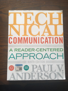 Technical Communication: A Reader-Centered Approach, 9th Edition