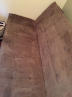 Beige Futon in Excellent condition - only used company as bed