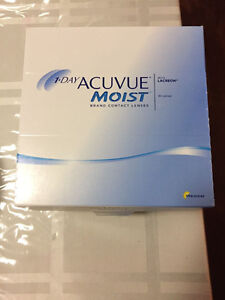 1-day acuvue moist daily contact lenses - $35