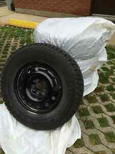 WINTER TIRES MotoMaster Total Terrain 235/70R16 on Steel Rims Cambridge Kitchener Area image 2