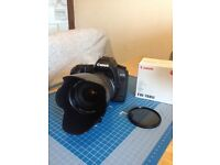 Canon 5D Mk2 Camera and 28-135 F3.5 EFS IS Lens plus 72mm Polarising filter and Lens Hood