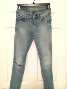 American Eagle ~ GIRLS Teenager Size 00 Jeggings for Sale!